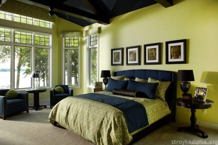 Кардинальное обустройство помещения в новомодный цвет Greenery